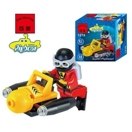 Купить Конструктор игровой Brick «Подводный скутер» 1717078