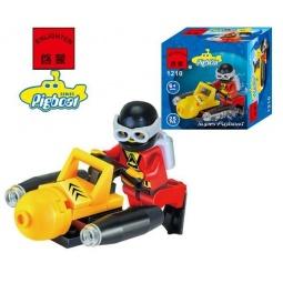 фото Конструктор игровой Brick «Подводный скутер» 1717078