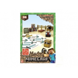 Купить Конструктор бумажный Minecraft «Снежный биом»