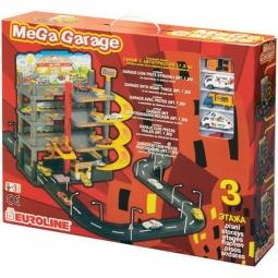 фото Набор игровой для мальчика Нордпласт «Мега гараж с дорогой»