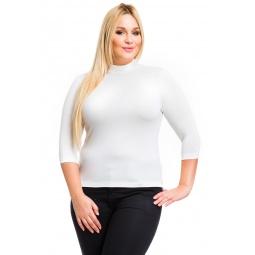фото Водолазка Mondigo XL 7010. Цвет: молочный. Размер одежды: 48
