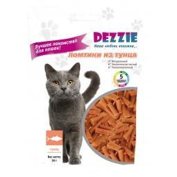 Купить Лакомство для кошек DEZZIE «Ломтики из тунца»