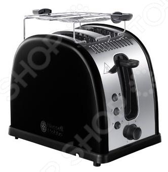 Тостер Russell Hobbs 21293-56Тостеры<br>Тостер Russell Hobbs 21293-56 устройство с множеством степеней прожарки, которое дополнит коллекцию кухонных атрибутов в любом доме. Тосты являются уникальным продуктом, ведь микроволновки или хлебопечи редко имеют такую функцию, а отдельный тостер всегда порадует поджаренным хлебом с мягкой хрустящей корочкой. Функции:  Функция размораживания.  Функция подогрева. Особенности:  Теплоизолированный корпус.  Съемный поддон для крошек.  Решетка для подогрева.<br>