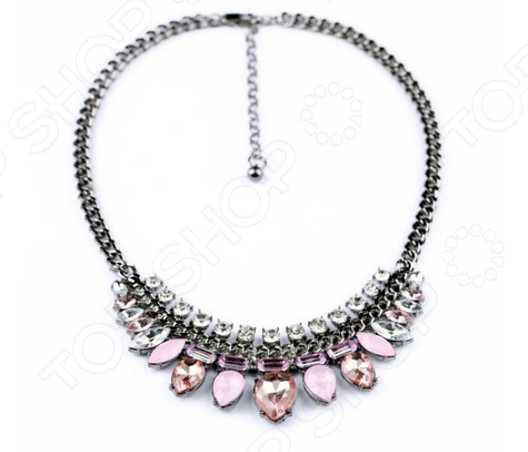 Колье Milana Style «Розовые мечты»