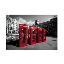 фото Фотообои ARD Maximage «Телефонные будки Лондона»