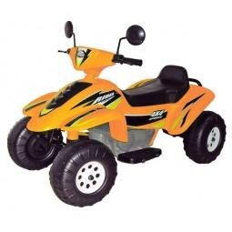 фото Квадроцикл детский электрический Пламенный Мотор «Бич Рейсер». Цвет: оранжевый