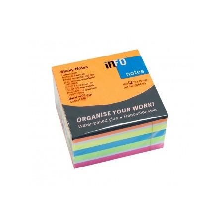 Купить Блок-кубик для записей Info Notes 5654-53