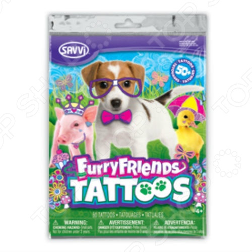 Татуировки временные для девочек Savvi «Пушистые друзья» [100%] the new imported genuine 6mbp50rh060 01 6mbp50rta060 01 billing