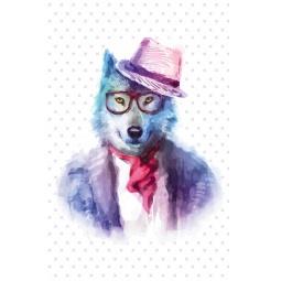 фото Хитрый волк. Блокнот для записей