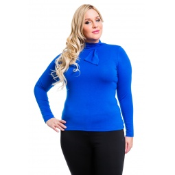 фото Водолазка Mondigo XL 7013. Цвет: синий. Размер одежды: 48