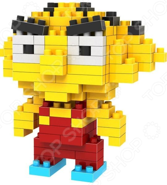 Конструктор-игрушка Loz «Сорванец Стю» loz мини конструктор diamond block сорванец стю