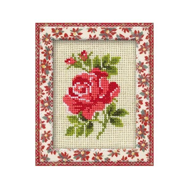 фото Набор для вышивания крестиком Сотвори Сама «Розочка»