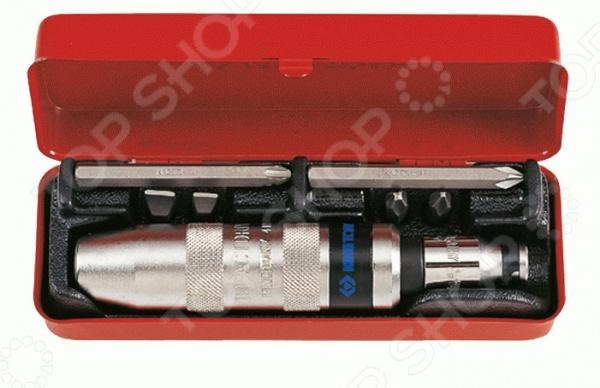 Отвертка ударная с набором вставок King Tony KT-4108FR