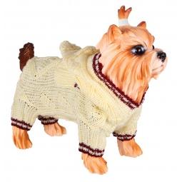 Купить Свитер для собак DEZZIE «Слай». Цвет: бежевый
