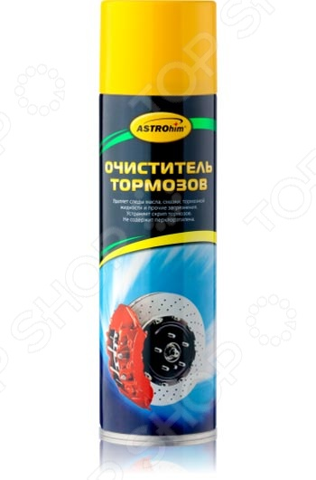 Очиститель деталей тормозов и сцепления Астрохим ACT-4306 «Антискрип» антискрип материалы для автомобиля в калининграде