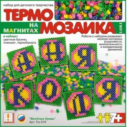 фото Мозаика LORI Магниты Веселые буквы