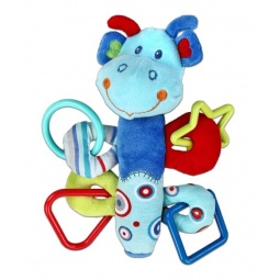 фото Мягкая игрушка развивающая Жирафики 93921 «Динозаврик с пищалкой»