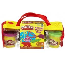 фото Набор пластилина Hasbro H37545 Play-Doh «Сумочка с животными»