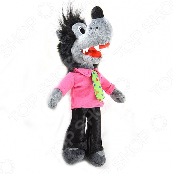 Мягкая игрушка 1 Toy «Волк»Мягкие игрушки<br>Мягкая игрушка 1 Toy Волк очаровательная игрушка персонажа из анимационного сериала для детей Ну, погоди! . Милая и приятная на ощупь игрушка не оставит ребенка равнодушным, и подарит массу удовольствия за игрой. Изделие выполнено из высококачественного гипоаллергенного материала с набивкой. С игрушкой можно как и играть днем, так и спать ночью, так как она не деформируется и не теряет внешний вид.<br>