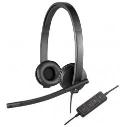 фото Гарнитура Logitech Headset H570e STEREO USB