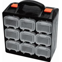 Купить Ящик для крепежа двухсекционный FIT