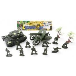 фото Набор фигурок игровой Shantou Gepai «Военный» 981-15