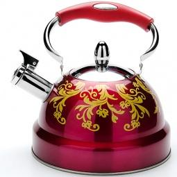 Купить Чайник со свистком Mayer&Boch «Узоры»