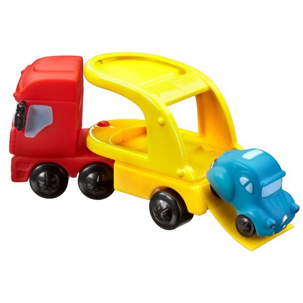 фото Игровой набор Mondo Motors Грузовичок Бруми с машинкой. В ассортименте