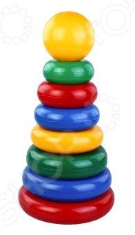Игрушка-пирамидка Строим вместе 19008