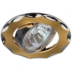 Купить Светильник встраиваемый поворотный Эра KL12A SG/N