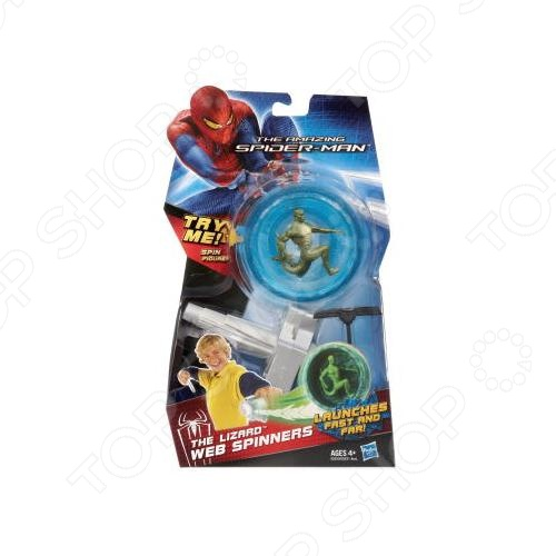 Волчок Hasbro «Ящер»Другие игрушки<br>Волчок Hasbro Ящер увлекательная игрушка для вашего ребенка. Боевой волчок служит оружием для героя. Прикрепите волчок к пусковому устройству и дерните за шнур. Специальная конструкция позволяет волчку вращаться очень долго, а яркая подсветка привлечет внимание ребенка.<br>