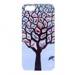 фото Чехол для iPhone 5 Mitya Veselkov «Дерево с птичками»