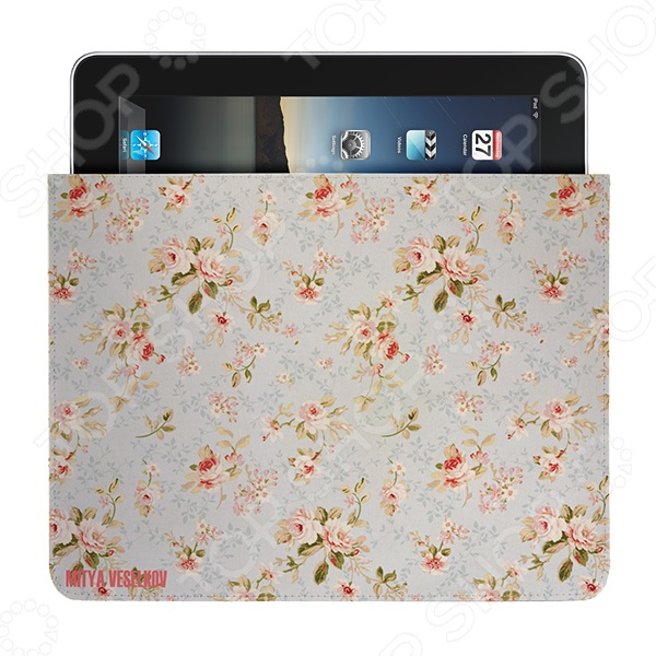 Чехол для iPad Mitya Veselkov «Розы» чехол для ipad mitya veselkov подсолнухи ван гога