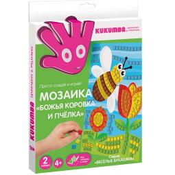 фото Мозаика KUKUMBA Божья коровка и пчелка