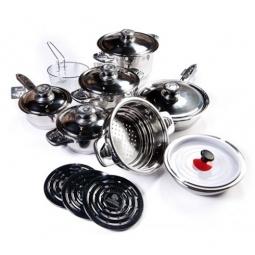 фото Набор кухонной посуды в подарочном чемодане SHNAIDER SD-1006