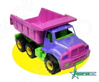 Самосвал игрушечный Нордпласт «Топаз»Машинки<br>Самосвал игрушечный Нордпласт Топаз станет отличным подарком для юного любителя техники, пополнив его коллекцию строительным автомобилем. Теперь играть в песочнице будет еще интересней! Колеса грузовика выполнены из мягкого пластика, что позволит при передвижении не застревать и обезопасить пол от царапин. Все детали выполнены из высококачественных нетоксичных материалов, поэтому полностью безопасны для детей.<br>