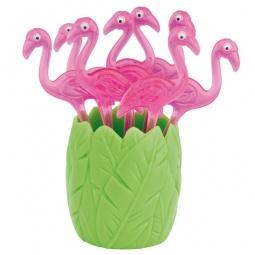 фото Шпажки для канапе Zak!Designs «Фламинго»