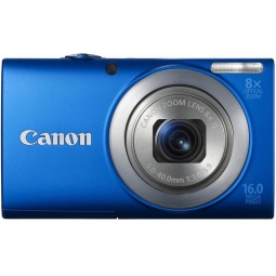 фото Фотокамера цифровая Canon PowerShot A4000 IS. Цвет: синий