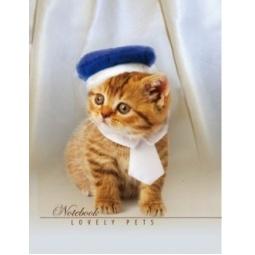 фото Блокнот Бриз «Стильный котенок»