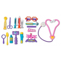 фото Игровой набор для ребенка Shantou Gepai «Набор доктора» 137-31