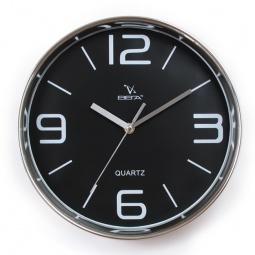 фото Часы настенные Вега Н 0257 «Черная классика»