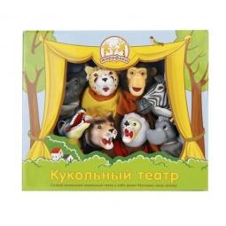 фото Набор для кукольного театра Жирафики «Животные Африки» 68345
