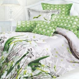фото Комплект постельного белья Унисон «Флер». 2-спальный. Размер наволочки: 70х70 см — 2 шт