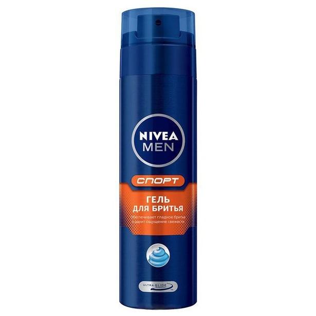 фото Гель для бритья Nivea for men Спорт