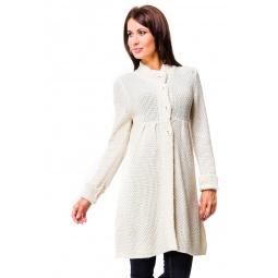 фото Кардиган Mondigo 9701. Цвет: молочный. Размер одежды: 42