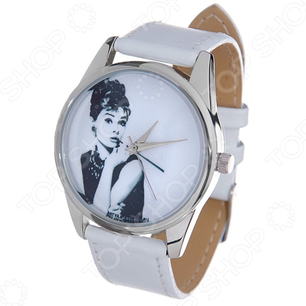 Часы наручные Mitya Veselkov «Одри курит» MV.White часы наручные mitya veselkov часы mitya veselkov одри на белом курит арт mv 38