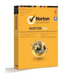 Купить Антивирусное программное обеспечение Symantec Norton 360 2013 RU 1 User 3LIC Arvato MM