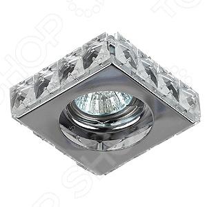 Светильник потолочный встраиваемый Эра DK66 CH/WH Эра - артикул: 560327