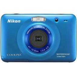 фото Фотокамера цифровая Nikon CoolPix S30. Цвет: синий