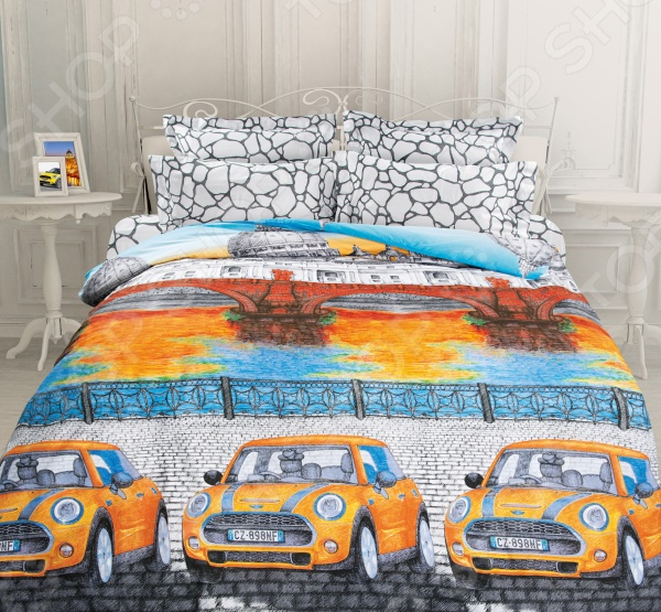 Комплект постельного белья Unison Итальянская серенада unison 5 спальное биоматин new фабиани
